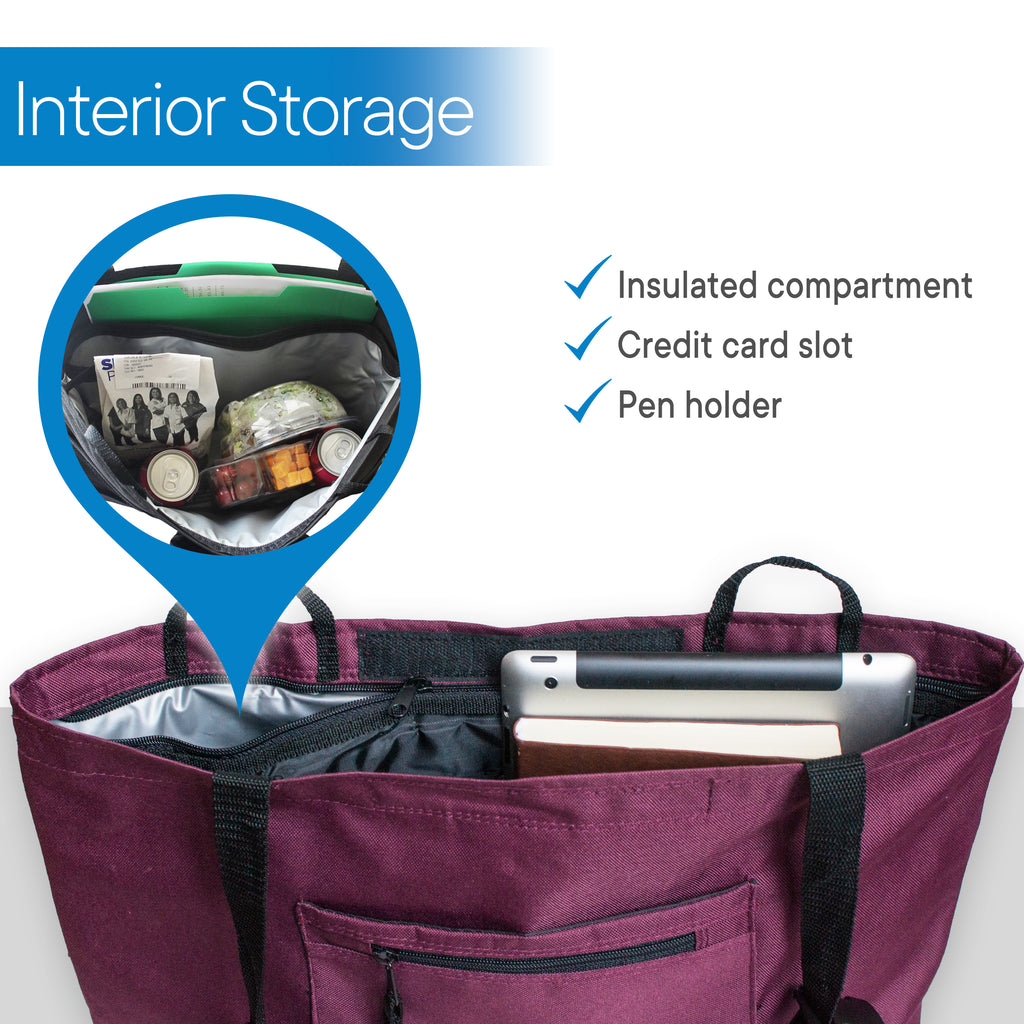 RMS Health - Wine Walker Bag with Soft Cooler
