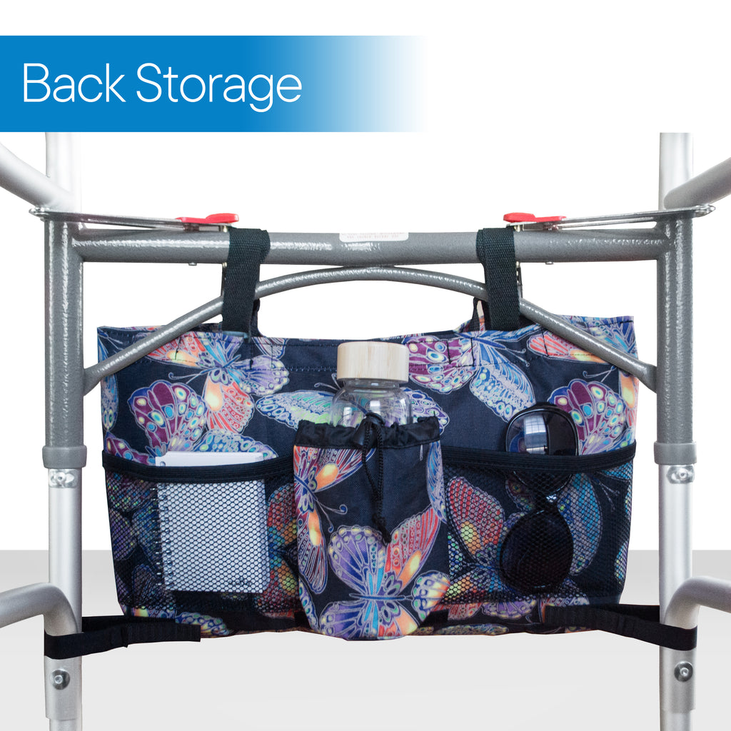 RMS Health - Vivid Butterfly Walker Bag with Soft Cooler