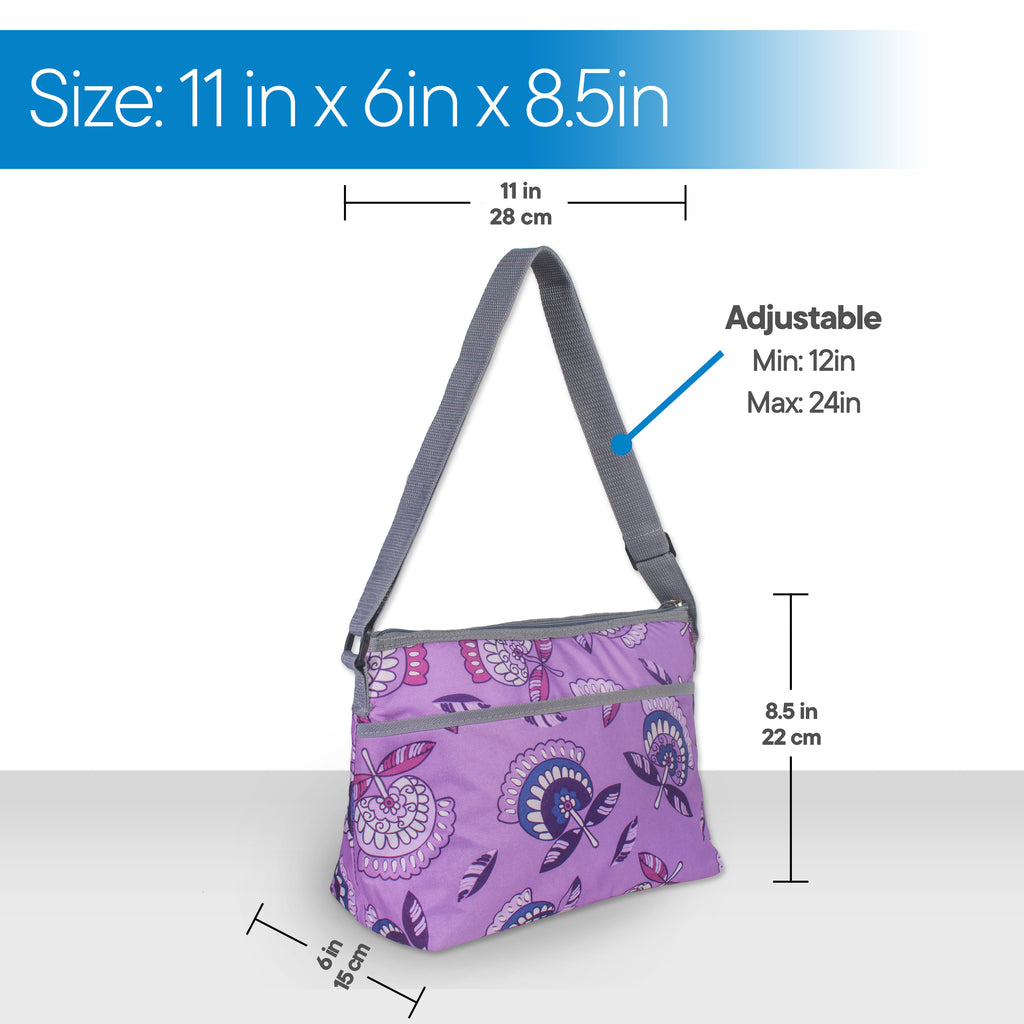 RMS Outdoors - 8 Can Sling Cooler (Purple)