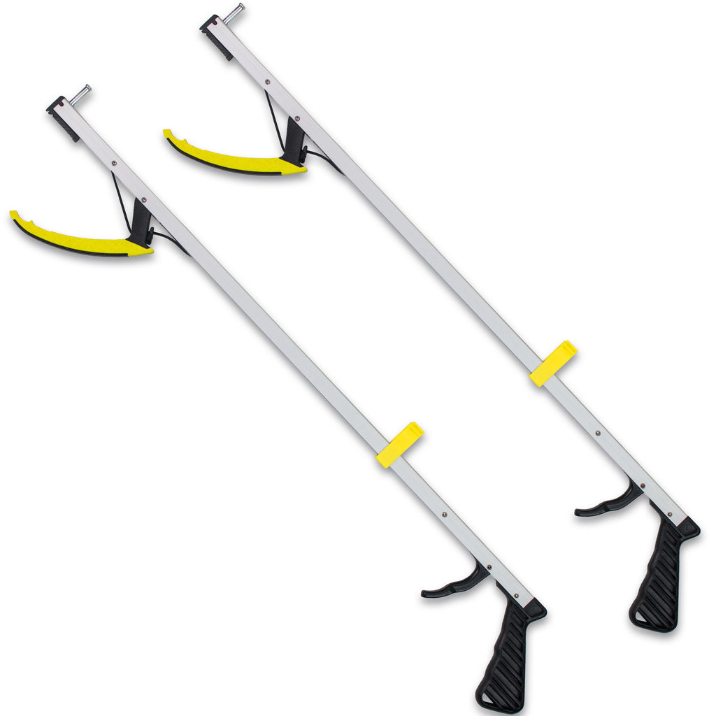 "RMS Health - 32"" Long Grabber Reacher with Magnetic Tip (2-Pack)"