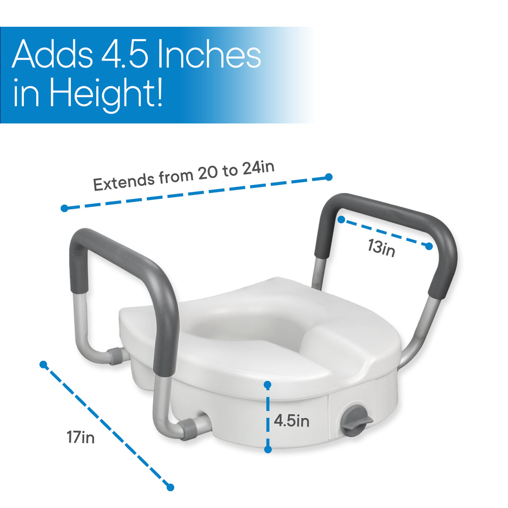 RMS HEALTH - ELEVATED TOILET SEAT
