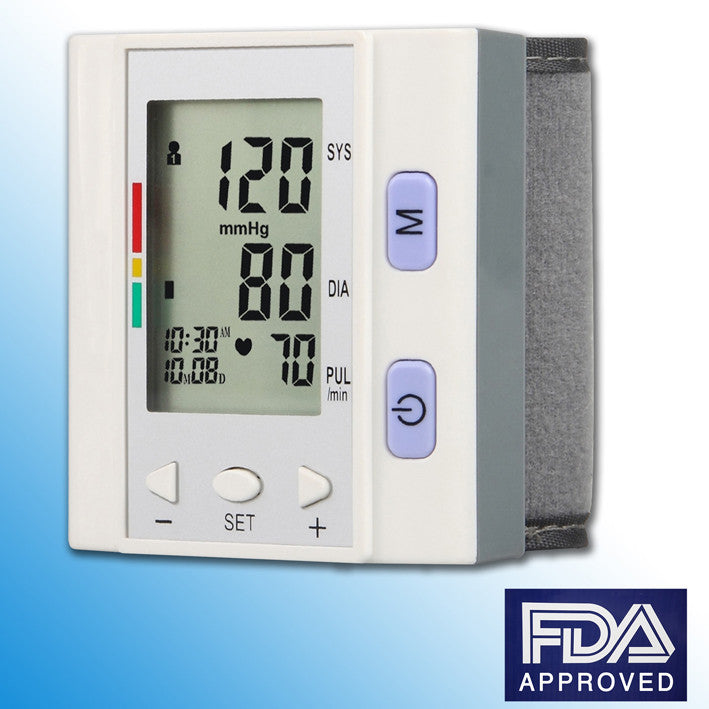 RMS - Wrist Blood Pressure Monitor