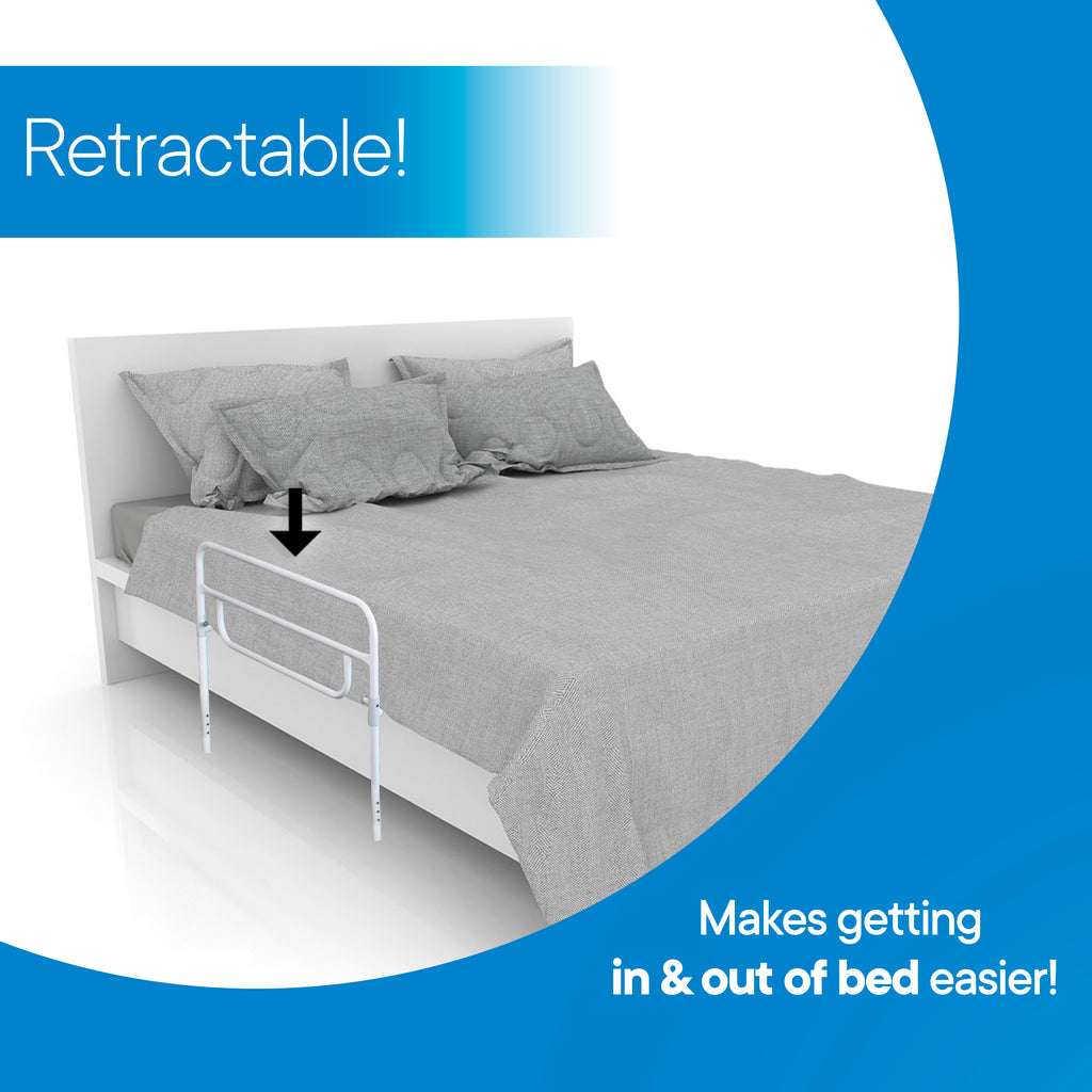 RMS Health - Dual Hand Adjustable Bed Rail
