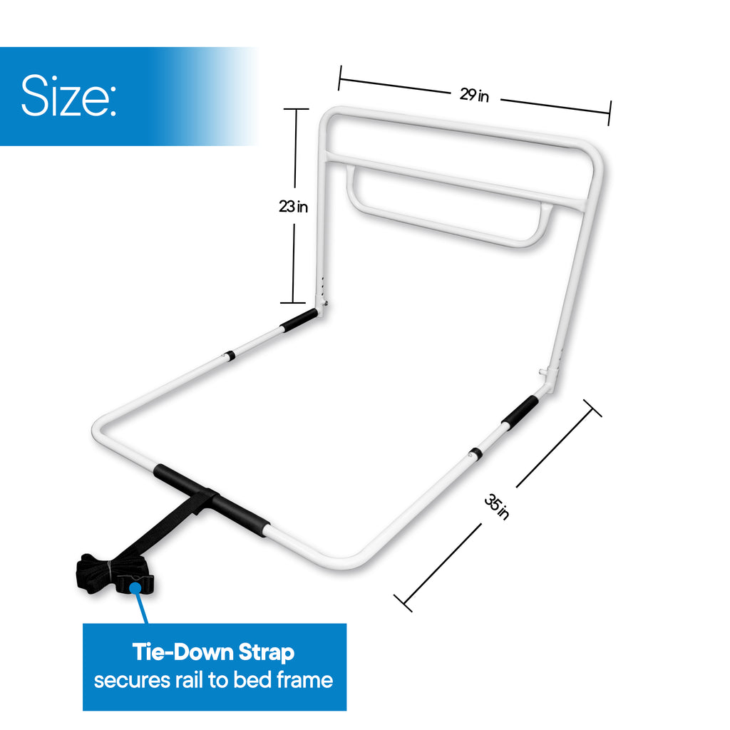 RMS - Single Hand Adjustable Bed Rail