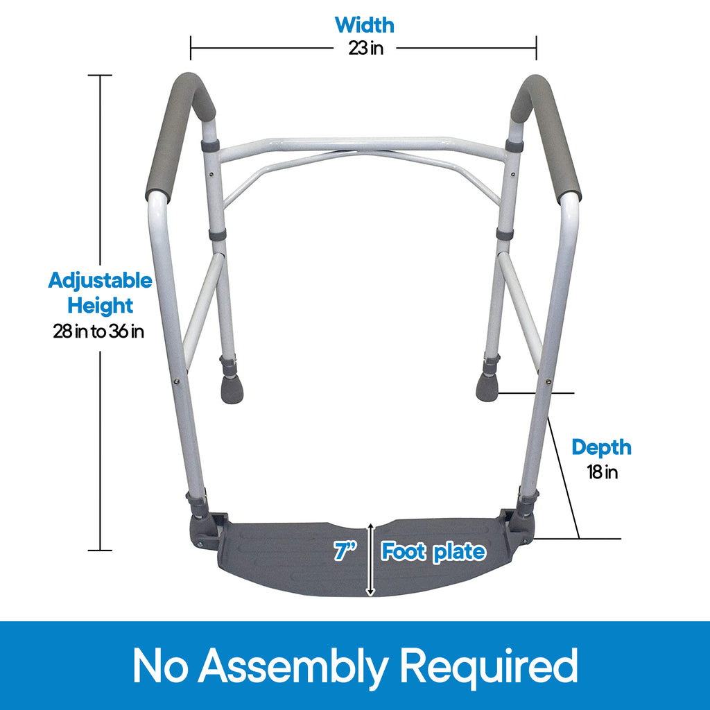 RMS - Folding Toilet Safety Frame