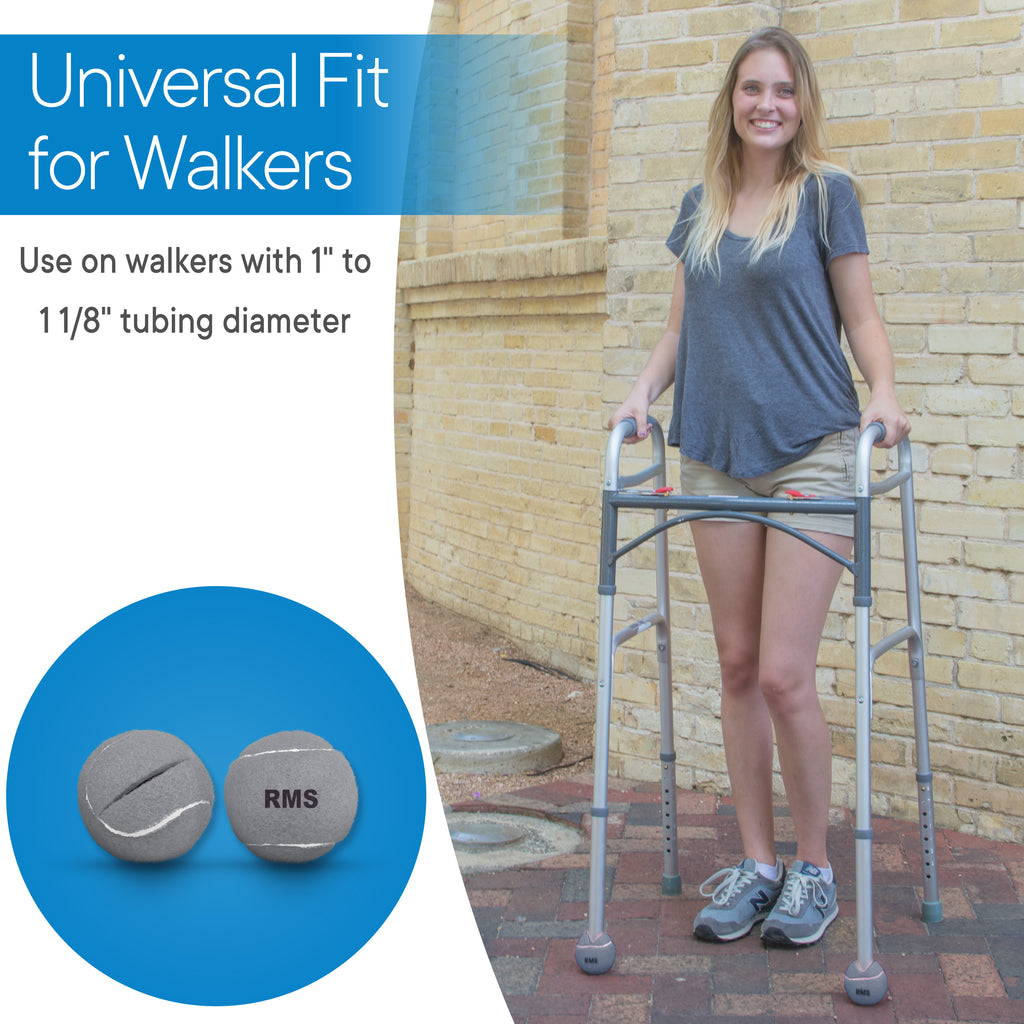 RMS Health - Grey Walker Glide Balls