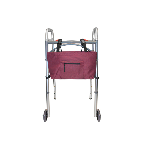 RMS Health - Wine Water Resistant Tote Bag for Walker, Rollator or Scooter