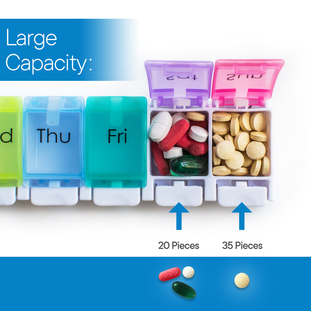 RMS Health - Daily Pill Organizer and Medicine Reminder