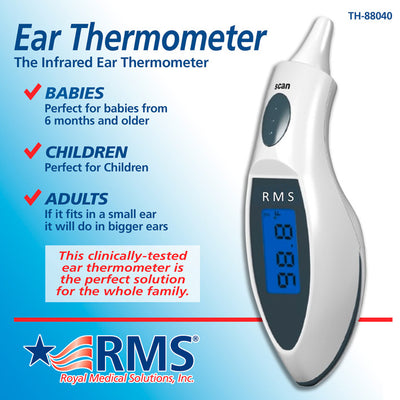 RMS Digital Ear Thermometer