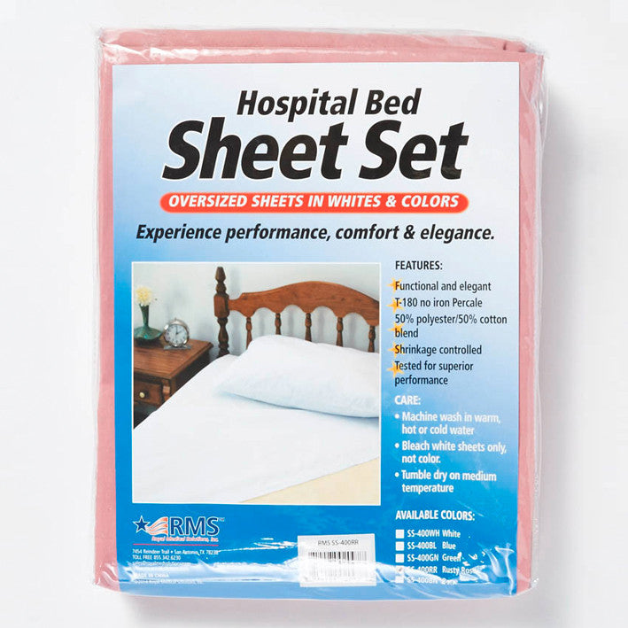 Rms Oversized Hospital Bed Sheet Set My Rms Store