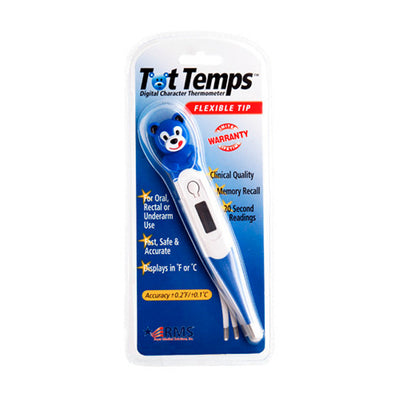 Blue Bear Pediatric Digital Character Thermometers