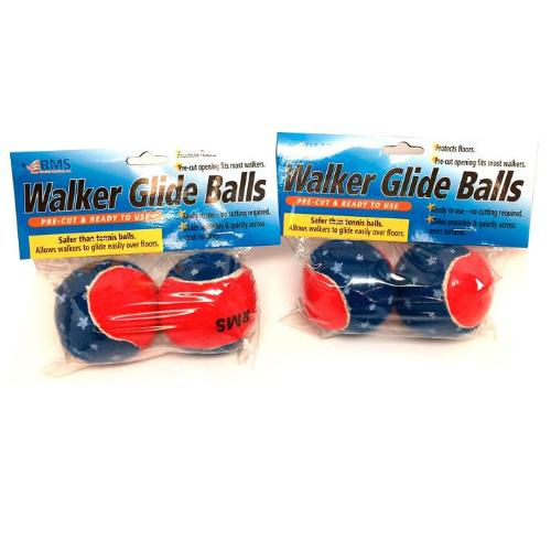 Patriotic - Walker Glide Balls (4 pack)