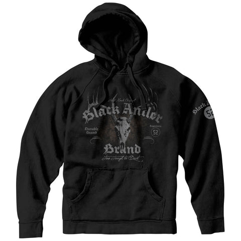 Black Antler Bad To The Bone Hoodie