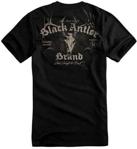 Black Antler Bad to the Bone Tee