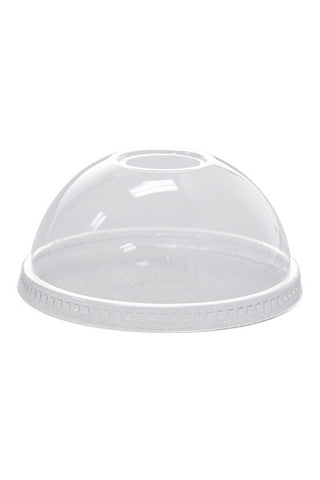 Dome Lids for 12-24oz Clear Plastic PET Cups