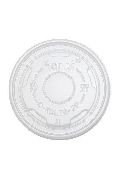 Flat Lids for 4oz Food Container
