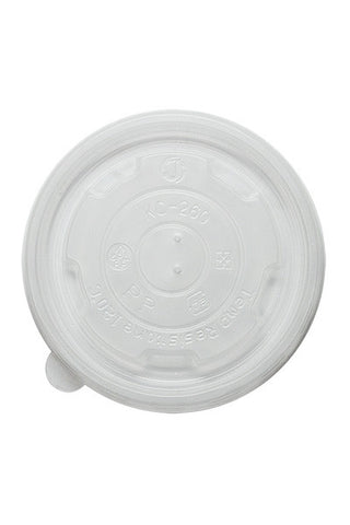 Flat Lids for 8oz Food Container (1000 per case)