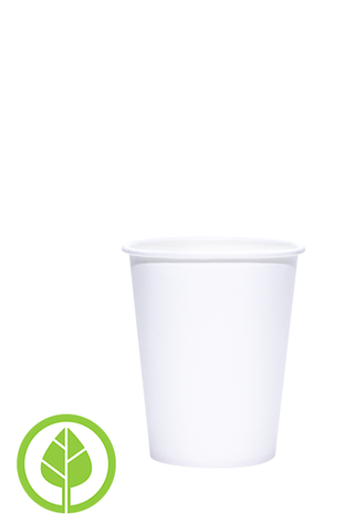 8oz Printed Eco-Friendly PLA-Lined Hots Cup