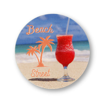 "4"" Full Color Round Coaster Front Only - 100 Case Pack"