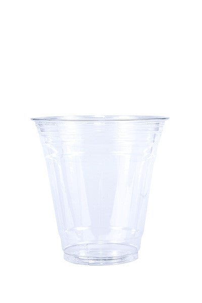 Unprinted 12oz Clear Plastic PET Cup