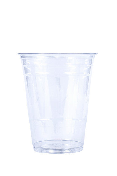 Unprinted 16oz Clear Plastic PET Cup