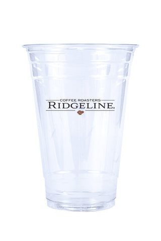 20oz Printed Clear Plastic PET Cup - 500 pieces