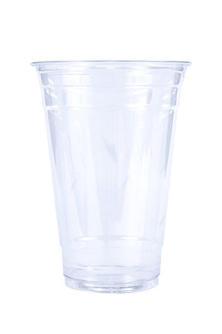 Unprinted 20oz Clear Plastic PET Cup
