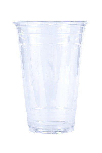 Unprinted 24oz Clear Plastic PET Cup