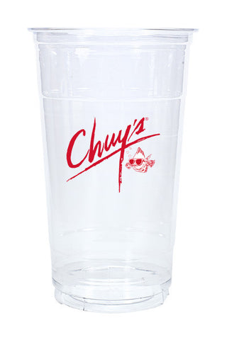 32oz Printed Clear Plastic PET Cup