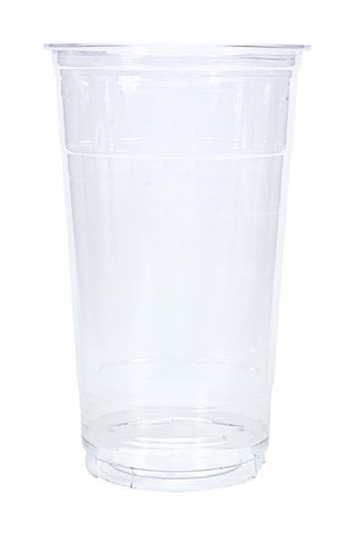 Unprinted 32oz Clear Plastic PET Cup