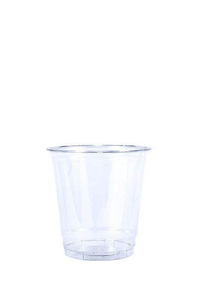 Unprinted 8oz Clear Plastic PET Cup