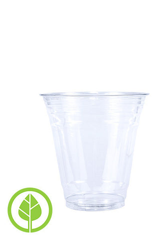 Unprinted 12oz Eco-Friendly Cold PLA Cup