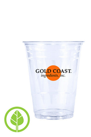 16oz Printed Eco-Friendly Cold PLA Cup - 250 pieces