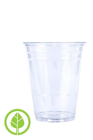 Unprinted 16oz Eco-Friendly Cold PLA Cup