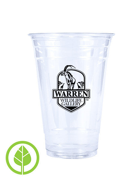 20oz Printed Eco-Friendly Cold PLA Cup - 250 pieces