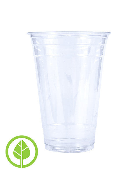 Unprinted 20oz Eco-Friendly Cold PLA Cup
