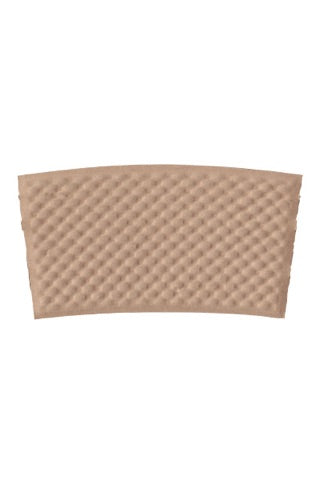 Unprinted Kraft Coffee Sleeves