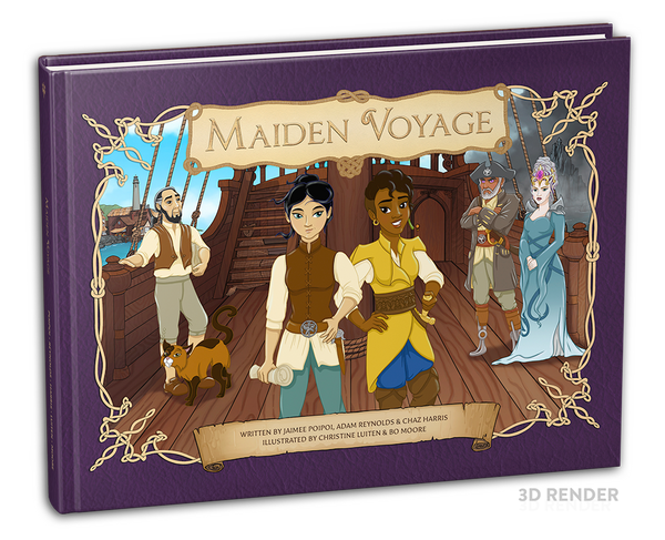 Maiden Voyage - First Edition Children's Book (Hardback)