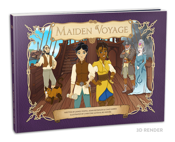 Maiden Voyage - First Edition Children's Book (Paperback)