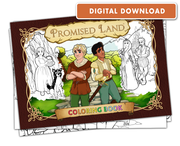 Promised Land: Coloring Book