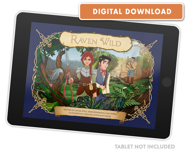 Raven Wild (English) [eBook]