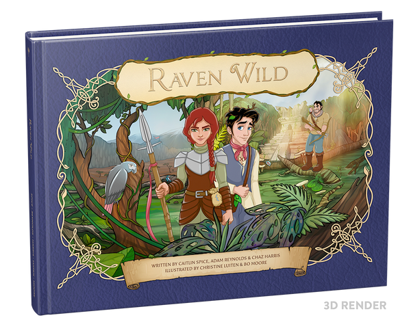 Raven Wild - First Edition Children's Book (Hardback)
