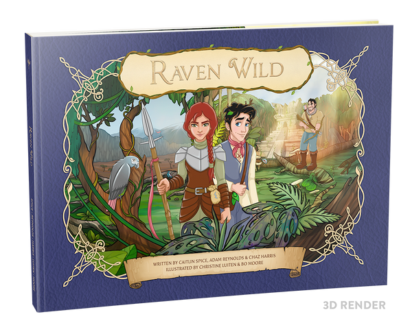 Raven Wild - First Edition Children's Book (Paperback)