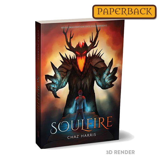 Soulfire - First Edition Novel (Paperback)