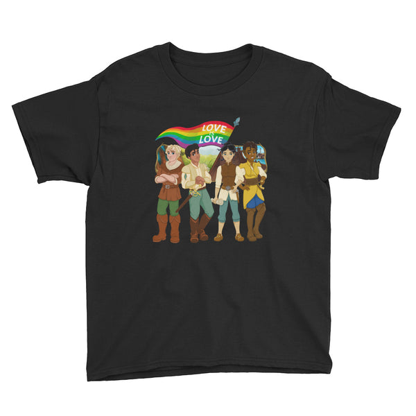 """LOVE IS LOVE"" - Youth Tee"