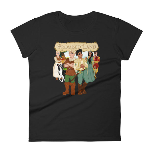 """PROMISED LAND"" Cover Art - Women's Tee"
