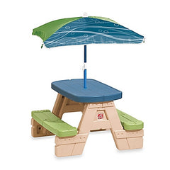 Step2 Sit Play Picnic Table with Umbrella