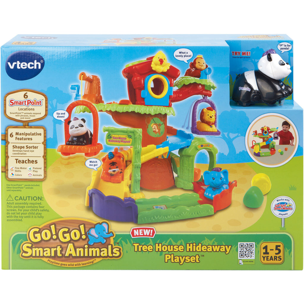 VTech Go! Go! Smart Animals Tree House Hideaway Play Set