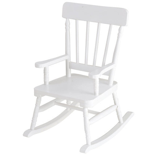 Levels of Discovery Simply Classic White Rocker