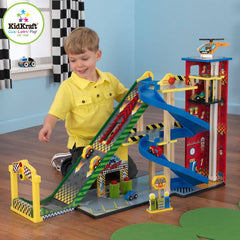 KidKraft Mega Ramp Racing Playset - 63267